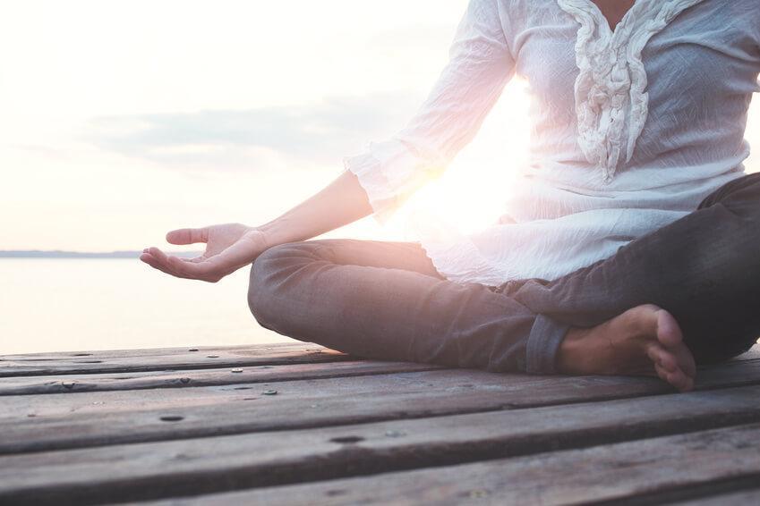 Stressbewältigung durch Meditation